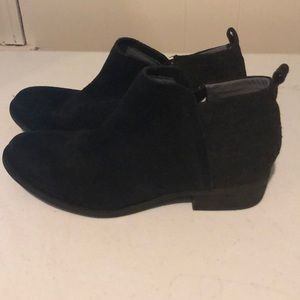 Toms 10W boots 70% leather black